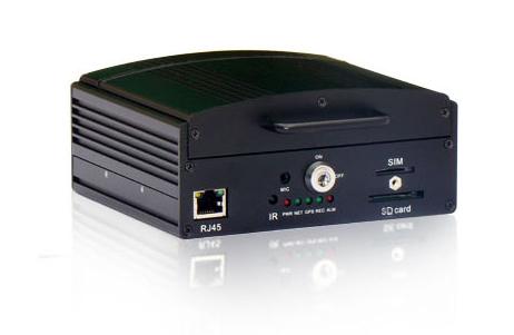 H8000 四路功能型车载硬盘录像机 货运车适用